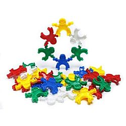 Learning Advantage Pyramid People Blocks 120 Pieces