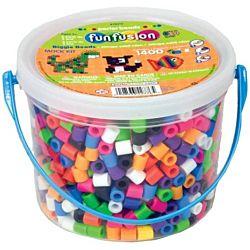 Perler BIGGIE Beads 1,400/Pkg-Assorted Colors 70711