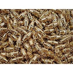 Gold Barrel Screw Clasps 144 pieces per package