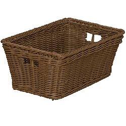 Wood Designs Kids, Cubby Size Plastic Wicker Basket Set of 10 WD-71810