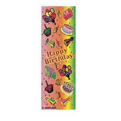 Happy Birthday Jumbo Sticker Classpacks