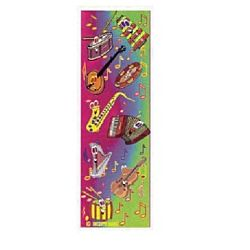 Music Instruments  Jumbo Sticker Classpacks