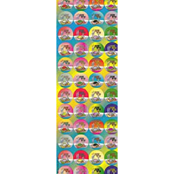1200 Self-Adhesive Judaic Stickers Classpack  Shabbos