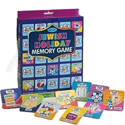 Jewish Holidays Memory Game