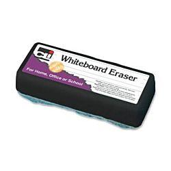 Charles Leonard Whiteboard Felt Eraser, 5 Inch, Charcoal (74500)