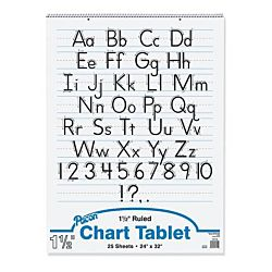 CHART TABLET WHITE 24
