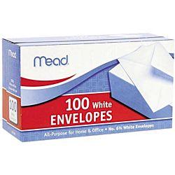Number 6 Plain Business Size Envelopes 3 5⁄8
