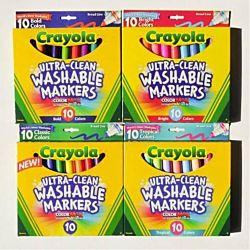 Crayola Washable Markers 8 colors set