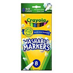 Crayola Poster Marker, Chisel Tip, Assorted 58-8173