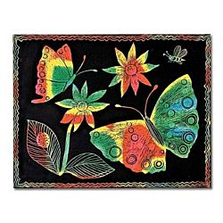 Melissa And Doug Scratch Art Paper Multi-color -12 sheets