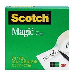Scotch Magic Tape, 1/2