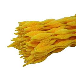 Chenille Kraft  Bump Stem Yellow , 12