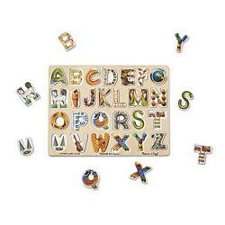 Melissa & Doug Alphabet Art Wooden Puzzle , item 83