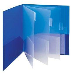 Eight Plastic pockets Folder, Multi-Pocket , Subject File Folder 8 1⁄2