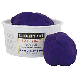 Sargent Art 3-Pound Art-Time Dough, Violet,  85-3142
