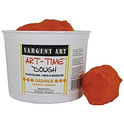 Sargent Art 3-Pound Art-Time Dough, Orange,  85-3314