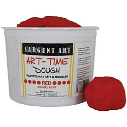 Sargent Art 3-Pound Art-Time Dough, Red,  85-3320