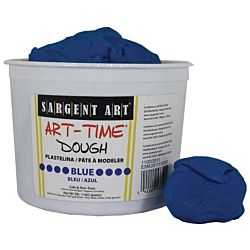 Sargent Art 3-Pound Art-Time Dough, Blue,  85-3350