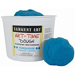 Sargent Art 3-Pound Art-Time Dough, Turquoise,  85-3361
