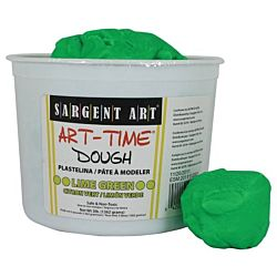 Sargent Art 3-Pound Art-Time Dough, Lime Green,  85-3379