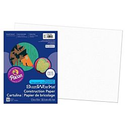 SunWorks Heavyweight Construction Paper, Bright White12