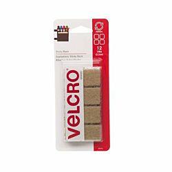 VELCRO® Brand - Sticky Back - 7/8-Inch Square 15 Sets - Beige 90074