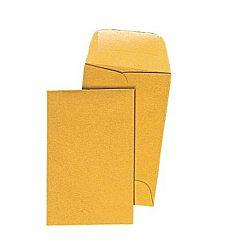 Gummed Closure #3 Coin Envelopes, 2-1/2