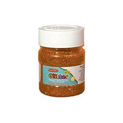 Creative Arts Craft Glitter, 4 oz. Bottle, Orange