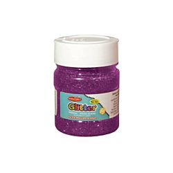 Creative Arts Craft Glitter, 4 oz. Bottle, Purple