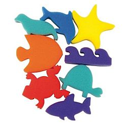 Ocean Shapes Sponges Set of 8