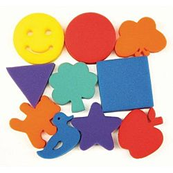 Familiar Shapes Sponges Set of 10