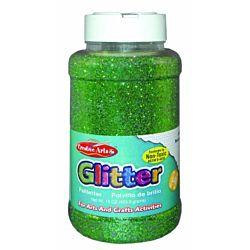 Creative Arts Craft Glitter, 16 Ounce Bottle Green