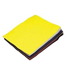 Felt Sheets, 9 by 12-Inch, Assorted Color, 12-Pack