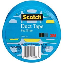 3M Duct Tape, Blue, 1.88-Inch by 20-Yard