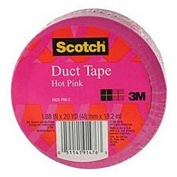 3M Duct Tape, Pink, 1.88-Inch by 20-Yard