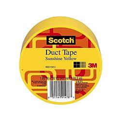 Scotch Duct Tape, Sunshine Yellow, 1.88-Inch by 20-Yard