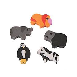 Mini Zoo Animal Erasers , (144 pcs.)
