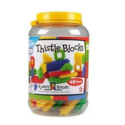 Learning Advantage Thistle Blocks, 49 Pieces