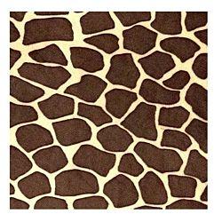 Printed Felt - Giraffe Pattern 30