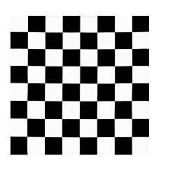 Printed Felt - Checkerboard Pattern 30