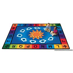 Kids Sunny Day Learn & Play, Carpet,  5'10