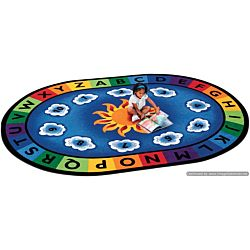 Kids Sunny Day Learn & Play, Carpet,  6'9