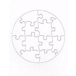Hygloss Circle Compoz-A-Puzzles 5-1/2 x 5-1/2