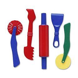 Chenille Kraft Dough Tools - 5 Piece Assortment CK-9762