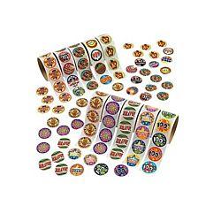 Reward Rolls of Stickers Assortment