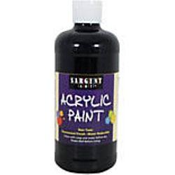 Sargent Art 24-2485 16-Ounce Acrylic Paint,  Ivory Black