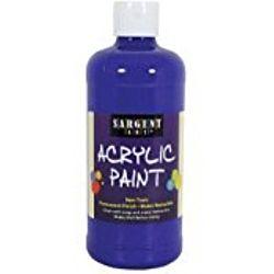 Sargent Art 24-2450 16-Ounce Acrylic Paint, Ultramarine Blue