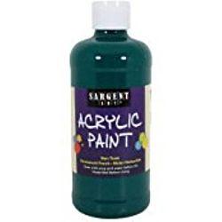 Sargent Art 24-2467 16-Ounce Acrylic Paint,  Deep Phtalo Green