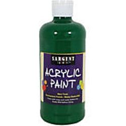 Sargent Art 24-2466 16-Ounce Acrylic Paint,  Spectral Green