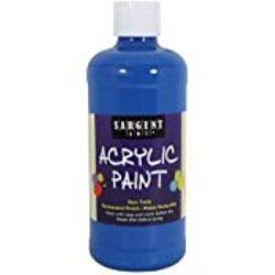 Sargent Art 24-2455 16-Ounce Acrylic Paint,  Phtalo Blue
